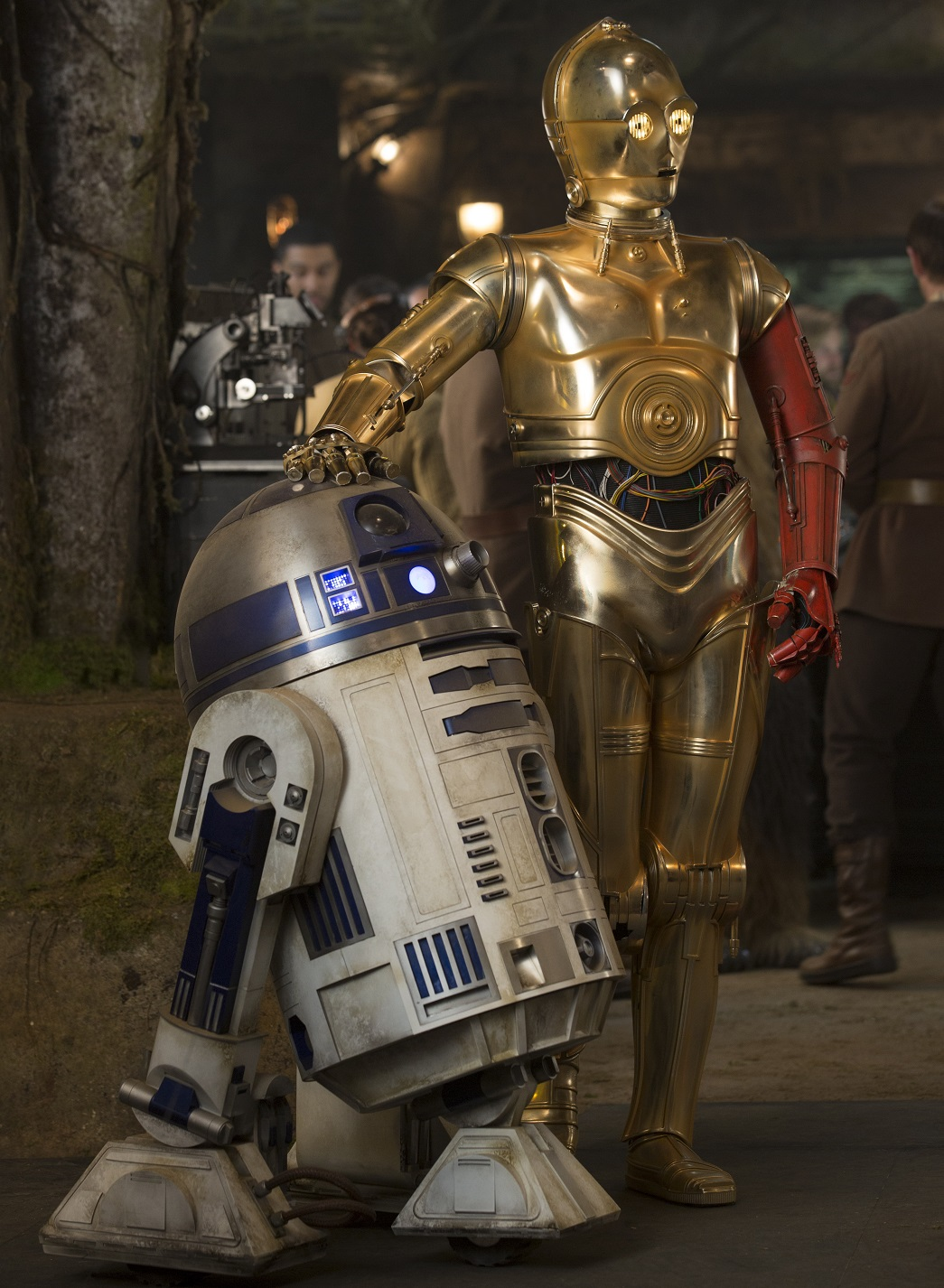 R2-D2 and C-3PO will soon return in Star Wars: The Force Awakens Photo: David James