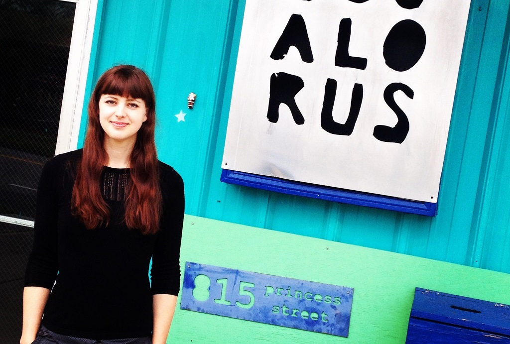 Motes of Dust co-founder Rebecca Kenyon