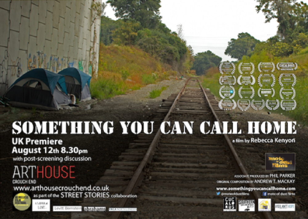 The UK premiere promo poster for Something You Can Call Home