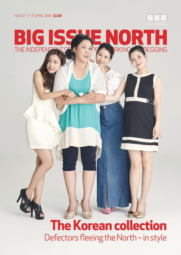 <br>The Big Issue Korea's feature on North Korean defectors as Big Issue North (UK)'s cover story