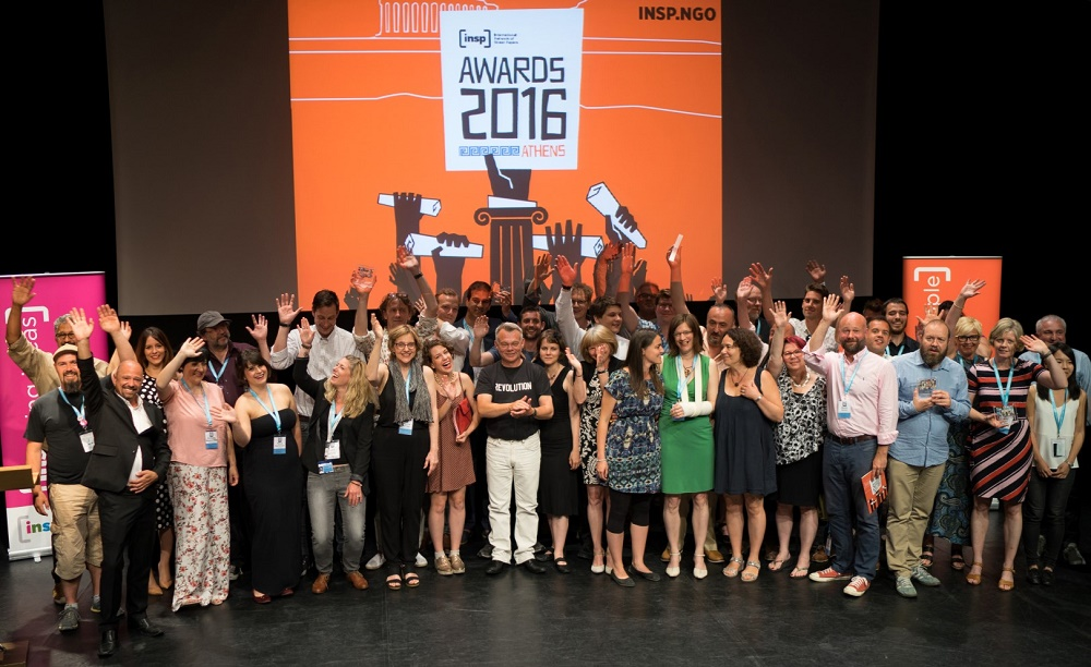 NSP Award winners and finalists. Photo: Panos Zoulakis thebigpicture.gr