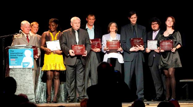 2009: The winners of the second INSP Awards in Bergen, Norway.<br>