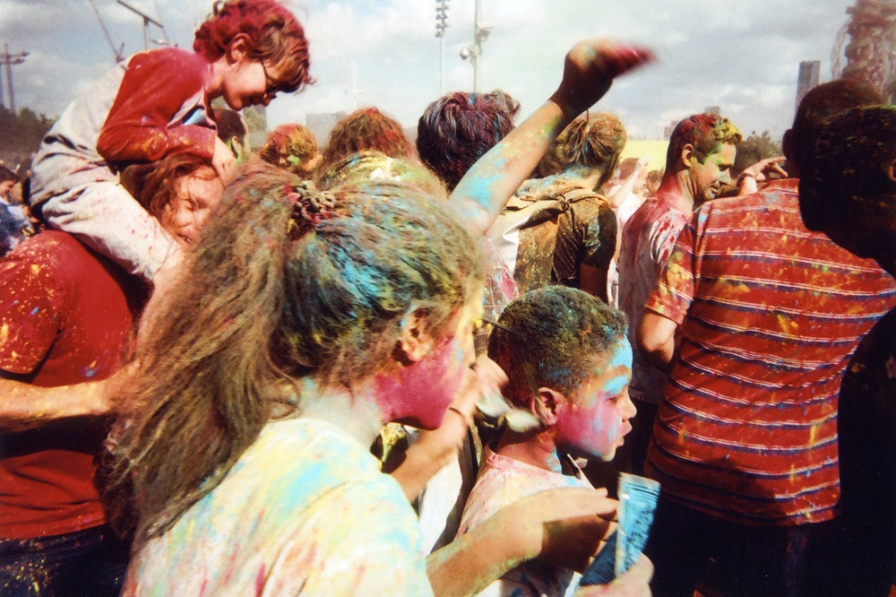 Colour Festival, Olympic Park, by Goska Calik