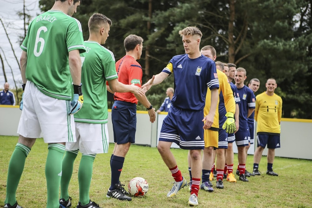Scotland v Northern Ireland friendly in Edinburgh Photo: Patrick Tully
