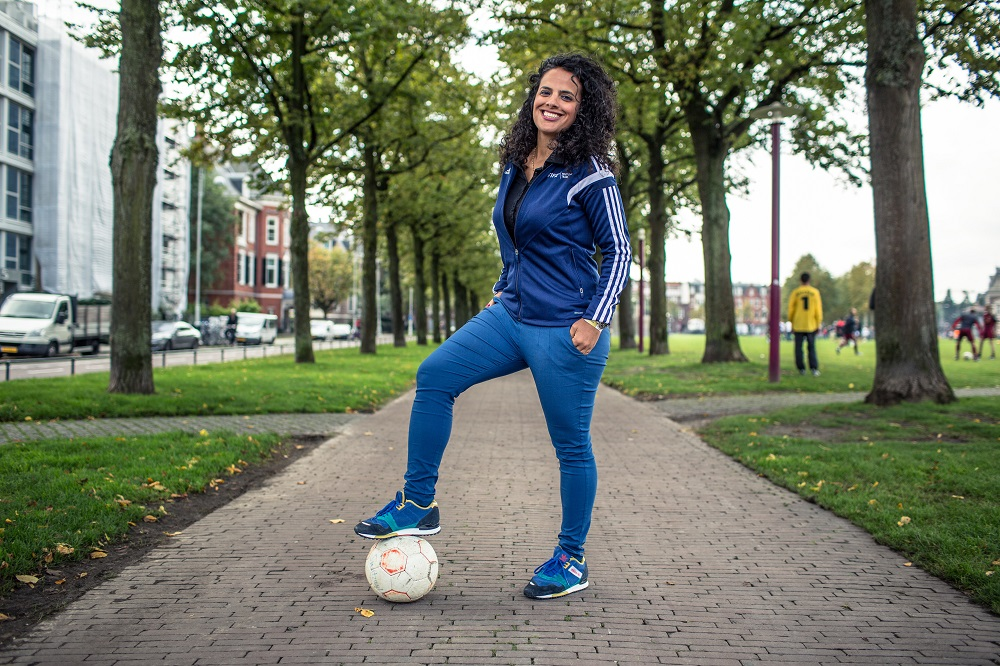 FIFA's Honey Thaljieh. Credit: Alex Walker