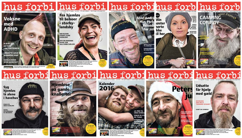 Vendors star on every cover of Hus Forbi