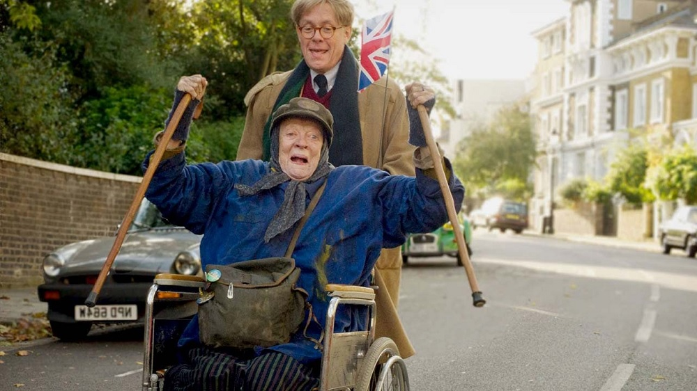Maggie Smith and Alex Jennings in The Lady in the Van. Photo: Allstar/BBC Films