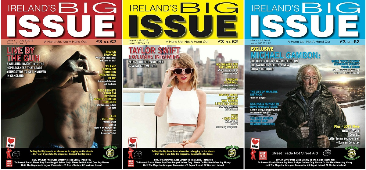 Stories from The Contributor (Nashville, USA), The Curbside Chronicle (OKC, USA) and The Big Issue (UK) shared in Ireland's Big Issue thanks to the INSP News Service.