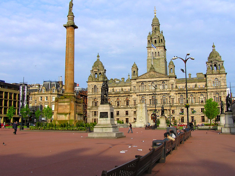 George Square in Glasgow. Photo: Finlay McWalter (Creative Commons)