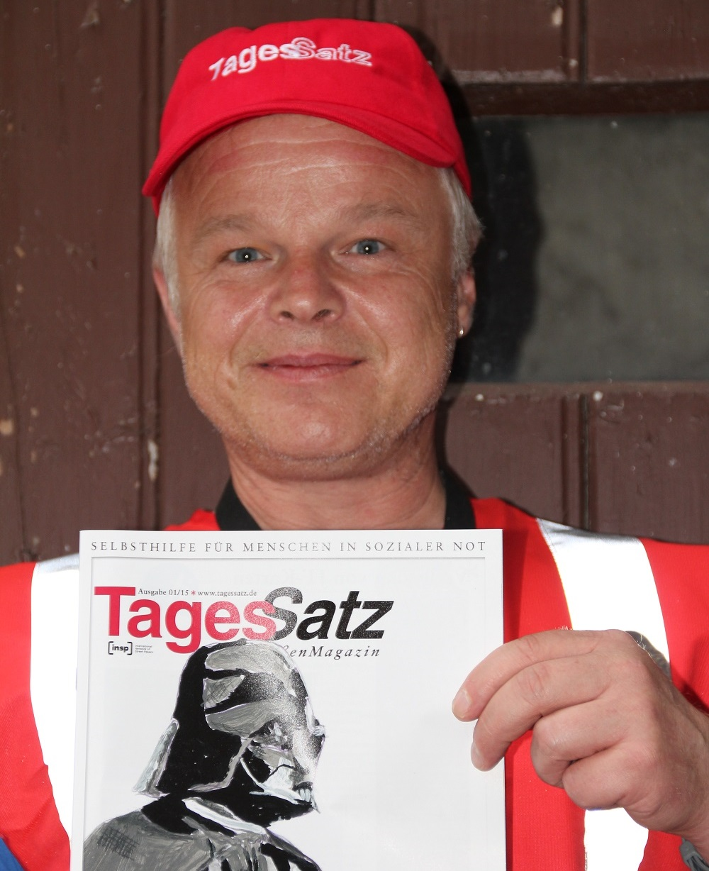 TagesSatz vendor Stefan Marx Photo: Ute Kahle