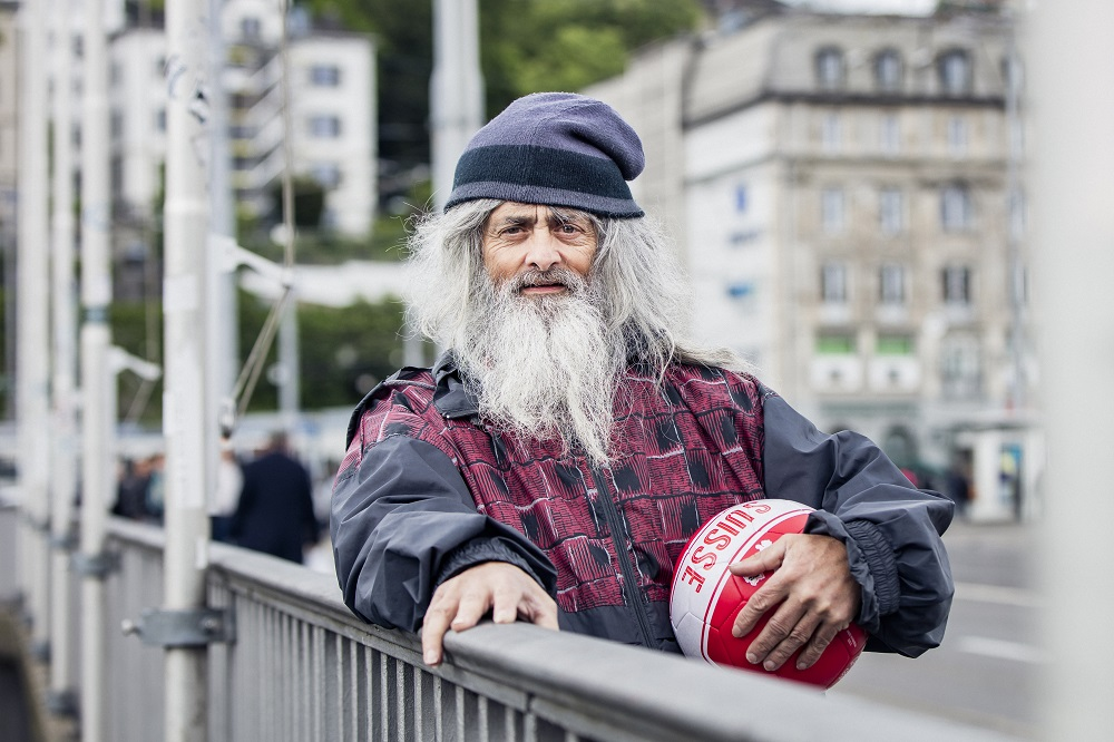 Ruedi is looking forward to representing Switzerland in this year's Homeless World Cup