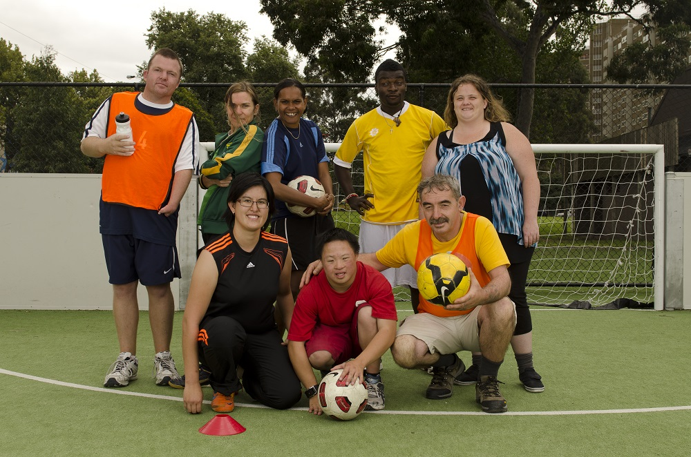 North Melbourne Street Socceroos. Credit: The Big Issue Australia