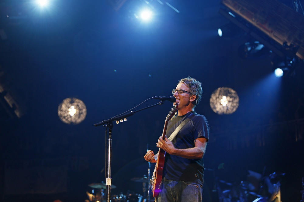 Gossard performs as part of Pearl Jam (Photo credit: Matthew S. Browning)