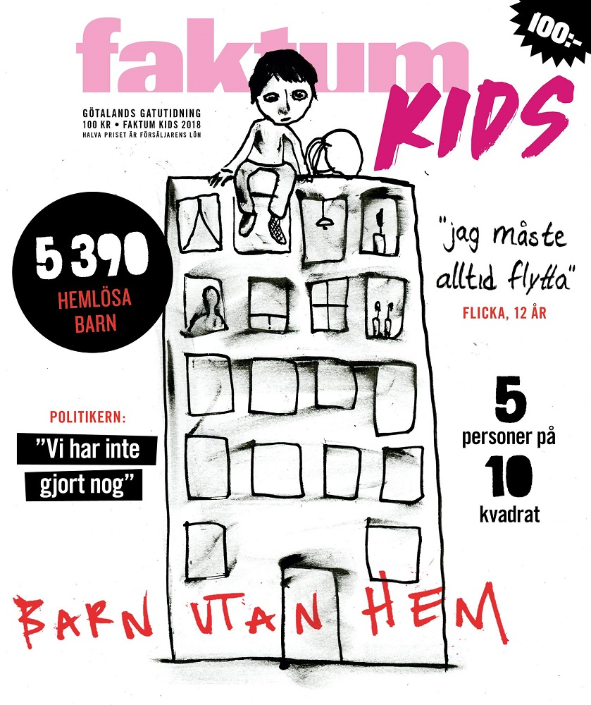 Faktum's special kids edition from October 2018