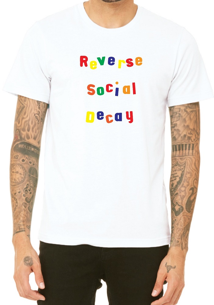 'Reverse Social Decay' - Some of the most recognisable Blankfaces designs. [Courtesy of The Blankfaces]