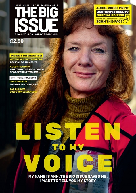 291c92b6bd The Big Issue (UK) said  Ann Warke s experience illustrates one key cause  of Britain s spiralling poverty  put on controversial and much-criticised  ...